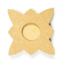 mdf-star-candle-holder