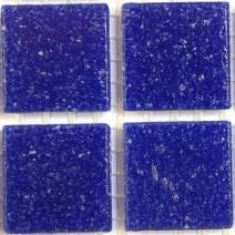 2 x 2 cm glas mosaik blå