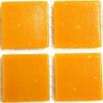 2 x 2 cm glas mosaik orange