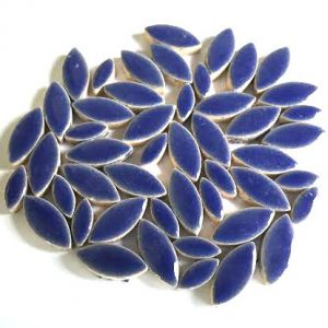 mosaik keramik blade blå