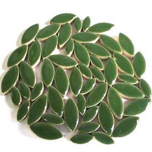 mosaik keramik blade grøn