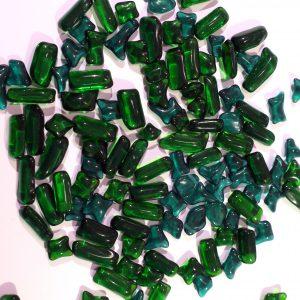 glas frits grøn