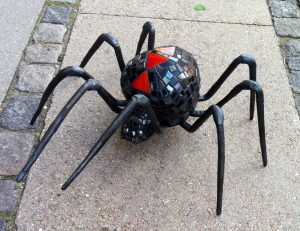edderkop med mosaik