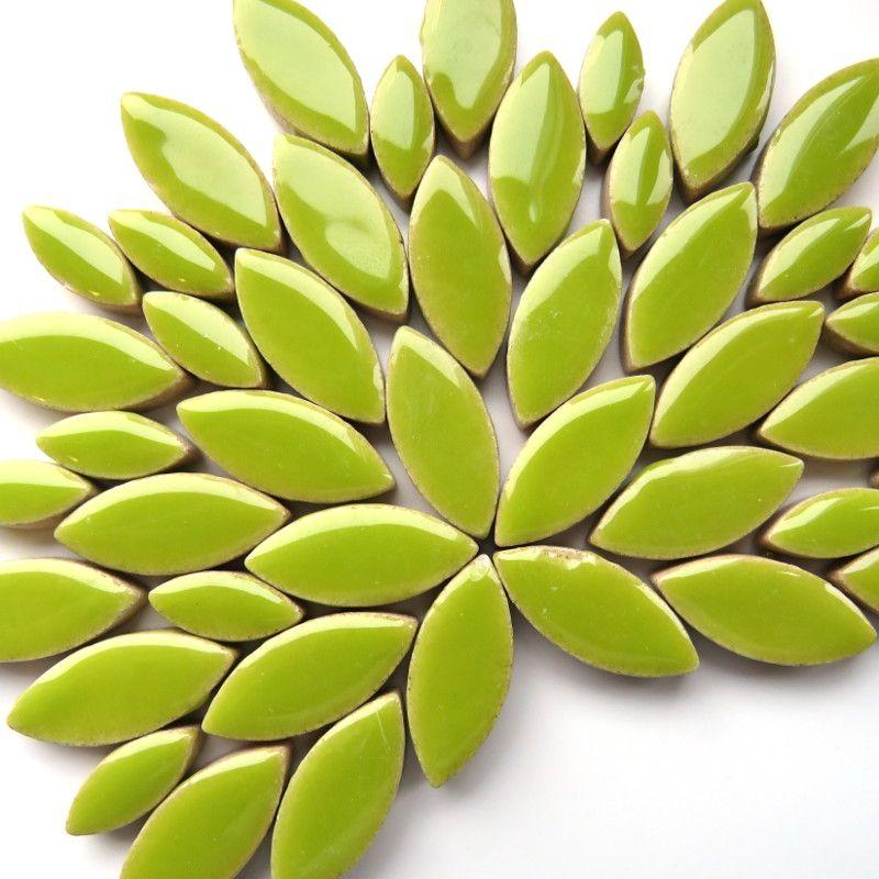 Limegrønne blade