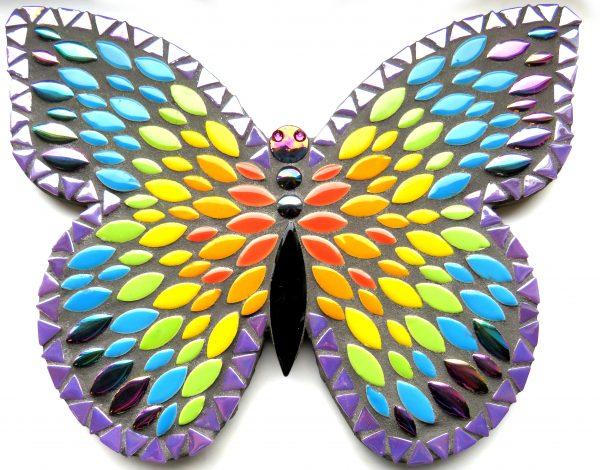 mosaik startkit sommerfugl